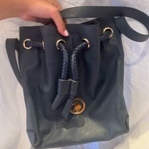 Navy USPA pouch tote bag in great condition